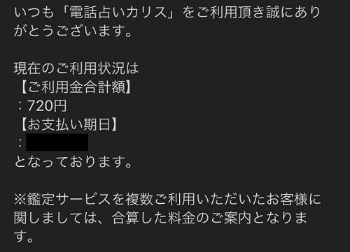 佳詠先生 鑑定料1